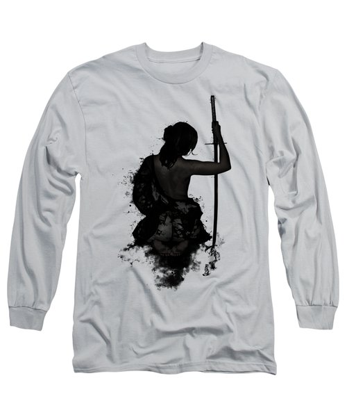 Female Samurai - Onna Bugeisha Long Sleeve T-Shirt