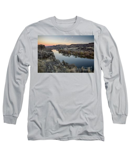 Snake River Dawn Long Sleeve T-Shirt