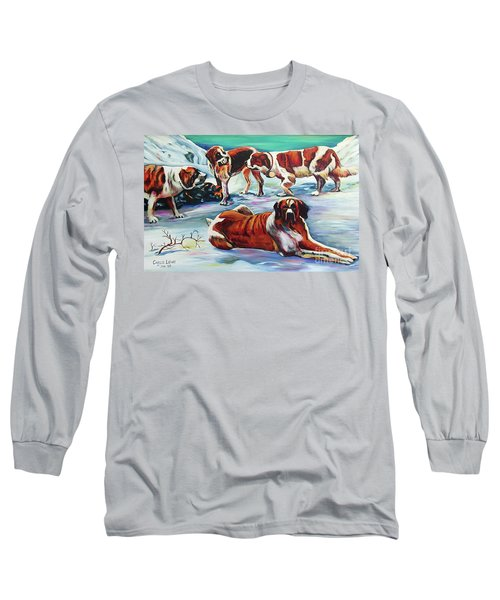 Snow Dogs Long Sleeve T-Shirt