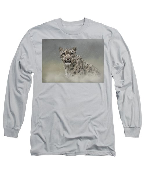 Snow Ghost Long Sleeve T-Shirt