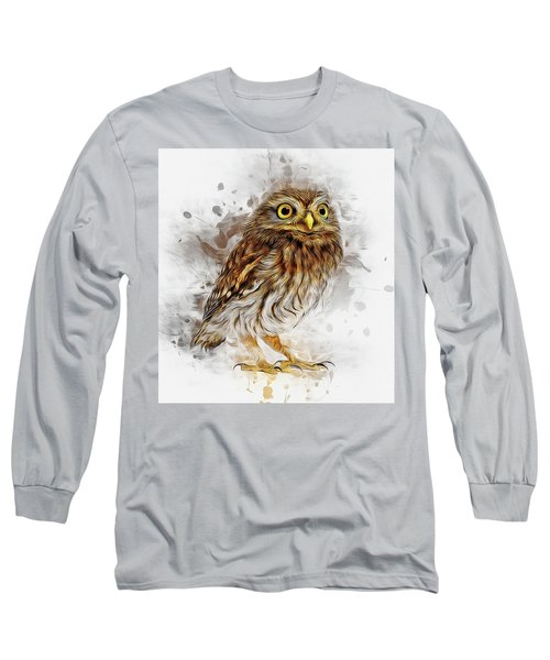Snow Owl Long Sleeve T-Shirt
