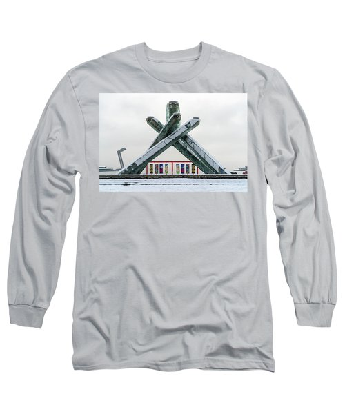 Snowy Olympic Cauldron Long Sleeve T-Shirt