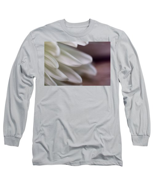 Soft White Petals-1 Long Sleeve T-Shirt