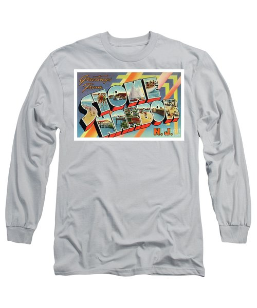 Stone Harbor Greetings Long Sleeve T-Shirt