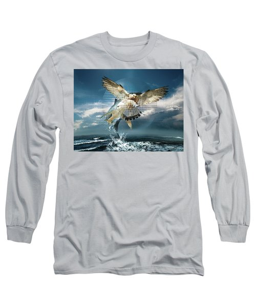Subliminal Message Or  Optical Illusion Of Conscious Perception Long Sleeve T-Shirt