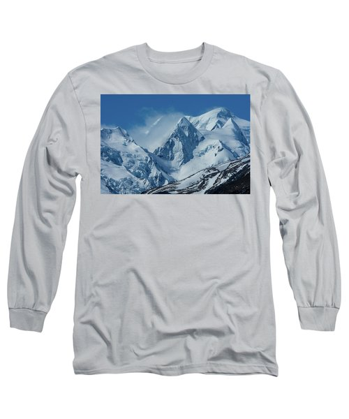 Summer Winds In Mount Cook National Park Long Sleeve T-Shirt