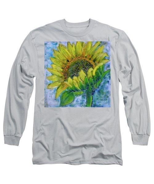 Sunflower Happiness Long Sleeve T-Shirt