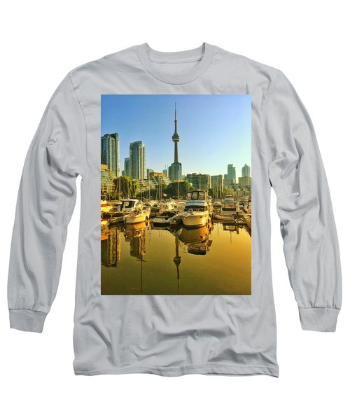 Sunrise At The Harbour Long Sleeve T-Shirt