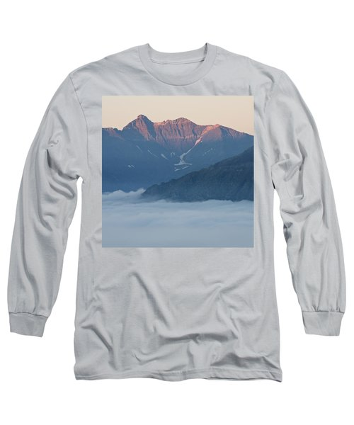 Sunset In The Pyrenees Long Sleeve T-Shirt