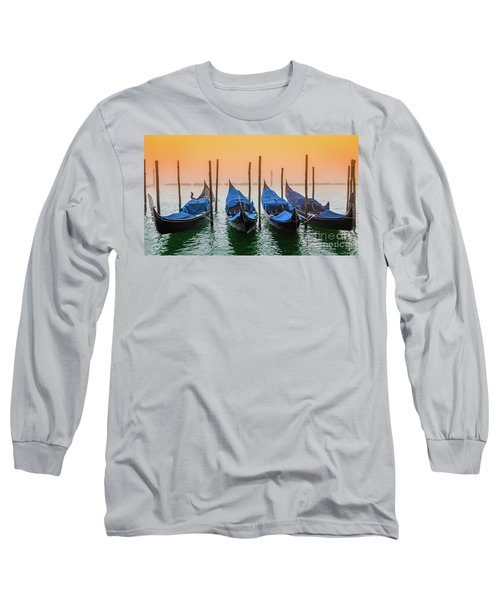 Sunset In Venice Long Sleeve T-Shirt