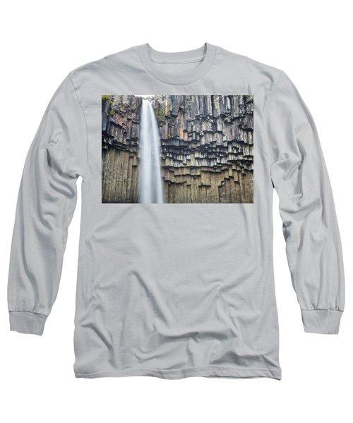 Svartifoss Portrait Iceland Long Sleeve T-Shirt