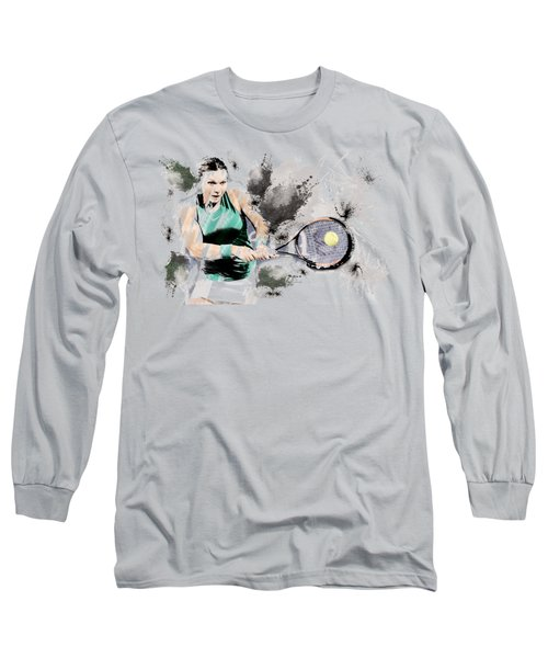 Tennis Anyone? Long Sleeve T-Shirt
