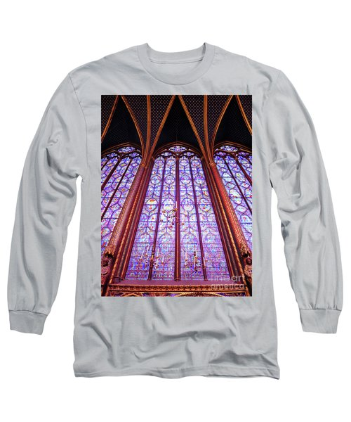The Awe Of Sainte Chappelle Long Sleeve T-Shirt