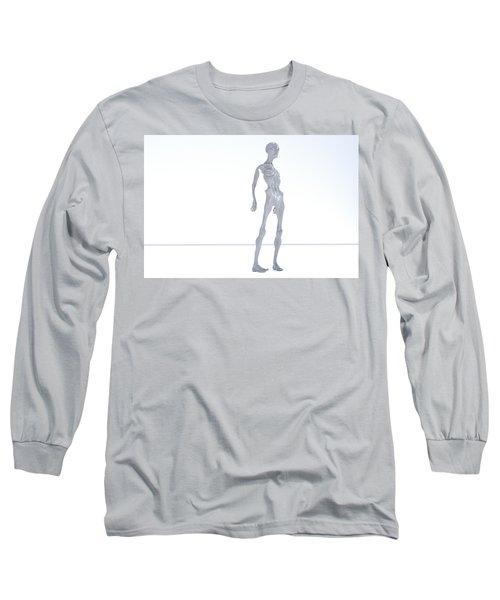 The Beautiful Lisa Frown 027 Long Sleeve T-Shirt
