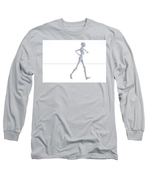 The Beautiful Lisa Strut 015 Long Sleeve T-Shirt