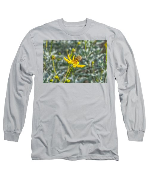 The Bee The Flower Long Sleeve T-Shirt
