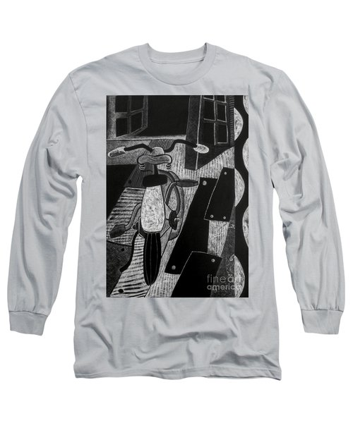 The Bicycle. Long Sleeve T-Shirt
