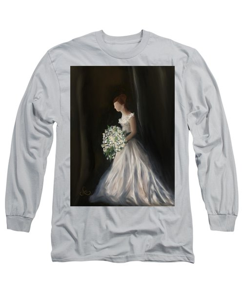 Long Sleeve T-Shirt featuring the painting The Big Day by Fe Jones