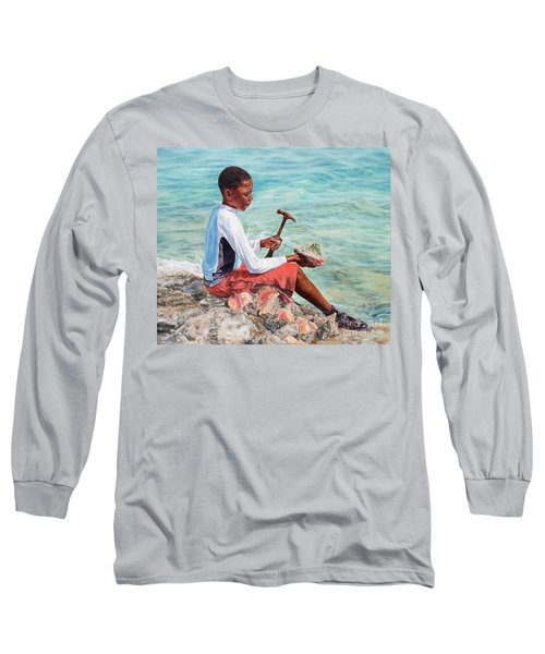 The Conch Boy Long Sleeve T-Shirt