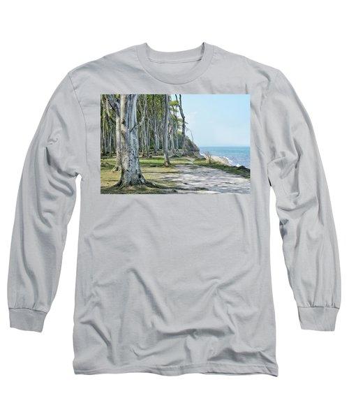 The Ghost Forest Of Nienhagen Long Sleeve T-Shirt