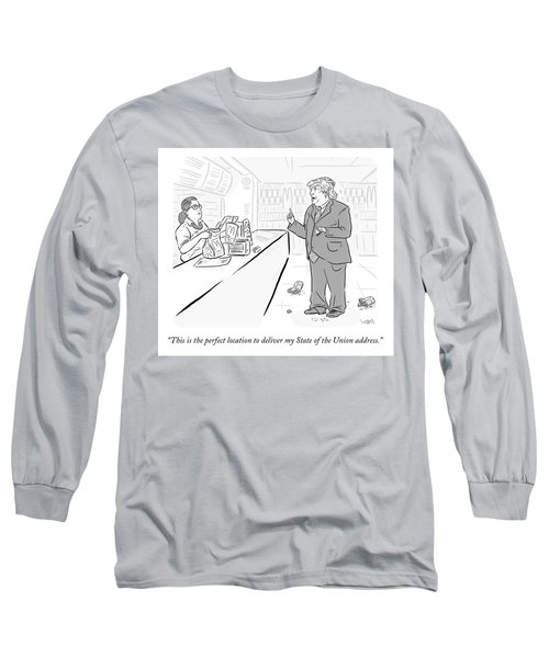 The Perfect Location Long Sleeve T-Shirt