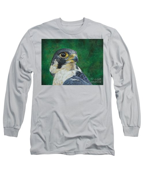 The Proud Peregrine....fastest Creature On The Planet Long Sleeve T-Shirt