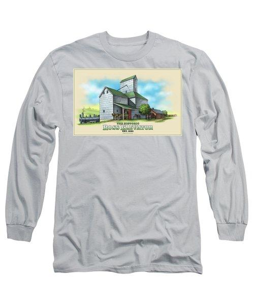 The Ross Elevator Long Sleeve T-Shirt
