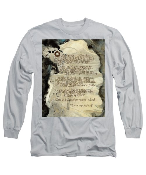 The Tale Of Two Wolves Long Sleeve T-Shirt