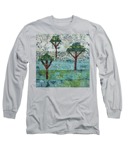 Three Trees Long Sleeve T-Shirt