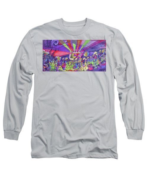 Arise Fest 2019 Live Painting While Tipper And Clozee Played. Long Sleeve T-Shirt