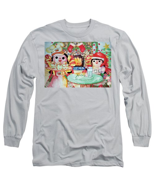 Treats For Santa Clause Long Sleeve T-Shirt