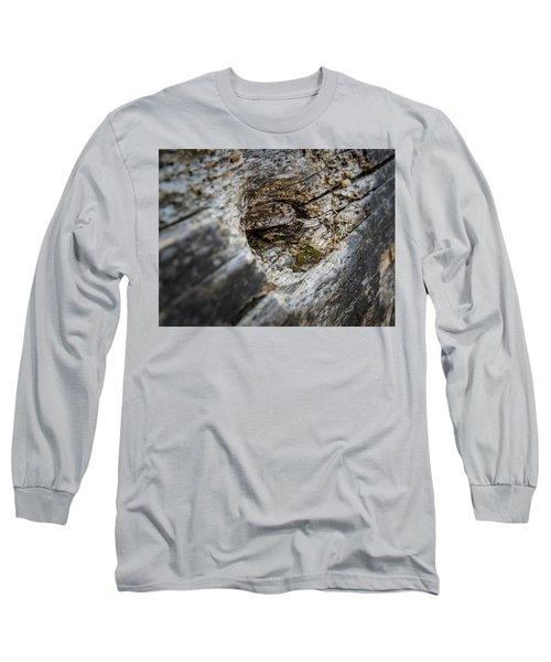 Tree Wood Long Sleeve T-Shirt