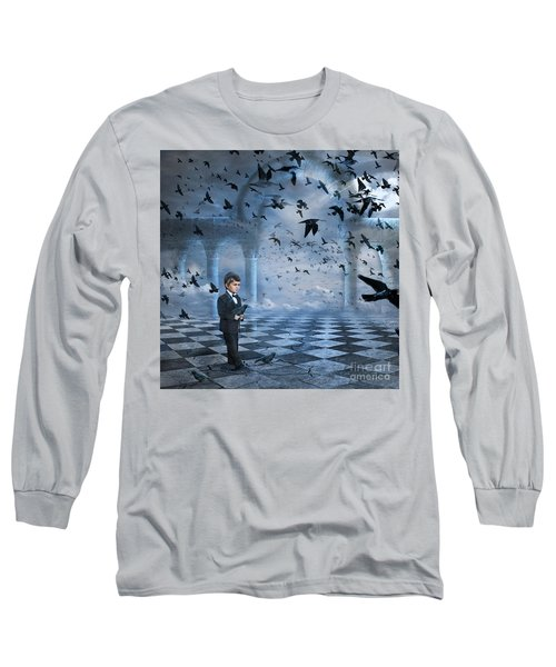 Tristan's Birds Long Sleeve T-Shirt