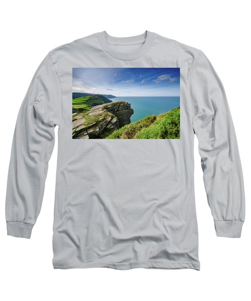 Valley Of The Rocks Views Long Sleeve T-Shirt