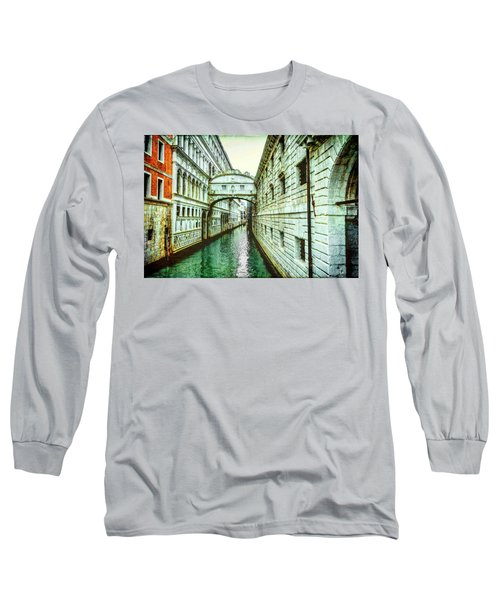 Venice Bridge Of Sighs Long Sleeve T-Shirt