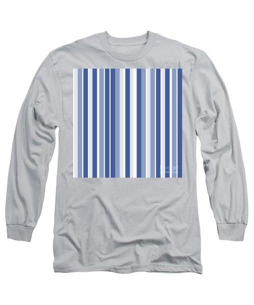 Vertical Lines Background - Dde605 Long Sleeve T-Shirt