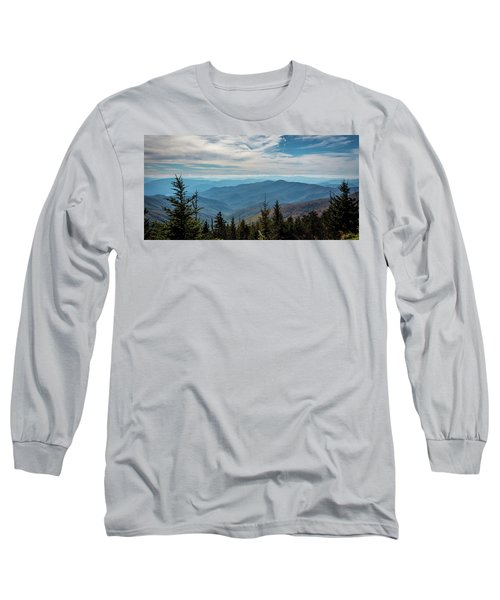 View From Clingman's Dome Long Sleeve T-Shirt