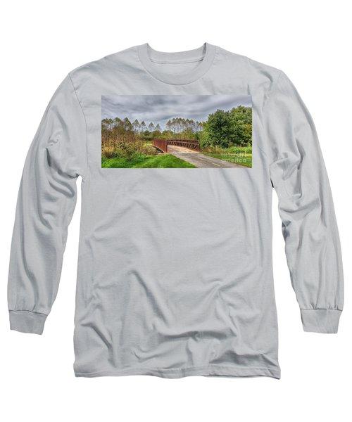 Walnut Woods Bridge - 3 Long Sleeve T-Shirt