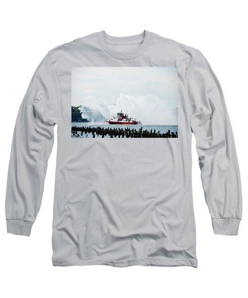 Water Boat Long Sleeve T-Shirt