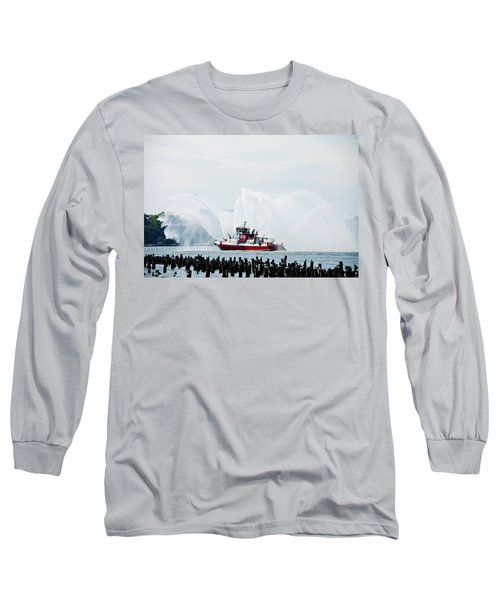 Water Boat Long Sleeve T-Shirt