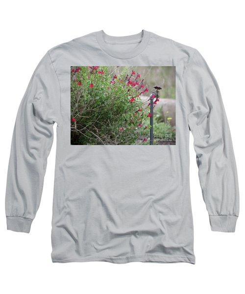 Water In The Garden Long Sleeve T-Shirt