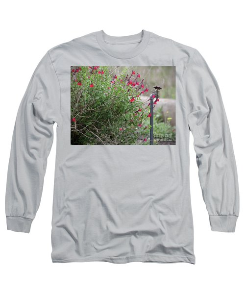 Water In The Garden Long Sleeve T-Shirt