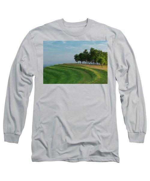 Waves Of Grass Long Sleeve T-Shirt