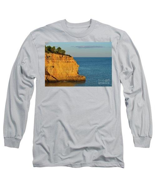 Where Land Ends In Carvoeiro Long Sleeve T-Shirt
