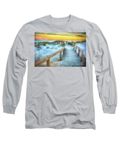 Where The Path Leads Long Sleeve T-Shirt