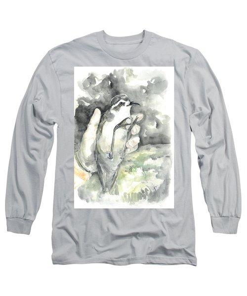 White-faced Storm-petrel Long Sleeve T-Shirt