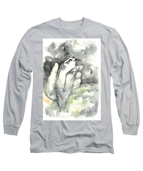 White-faced Storm-petrel Long Sleeve T-Shirt
