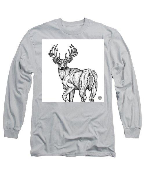 White Tailed Buck Long Sleeve T-Shirt