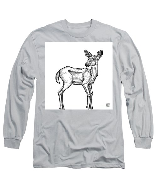 White Tailed Doe Long Sleeve T-Shirt