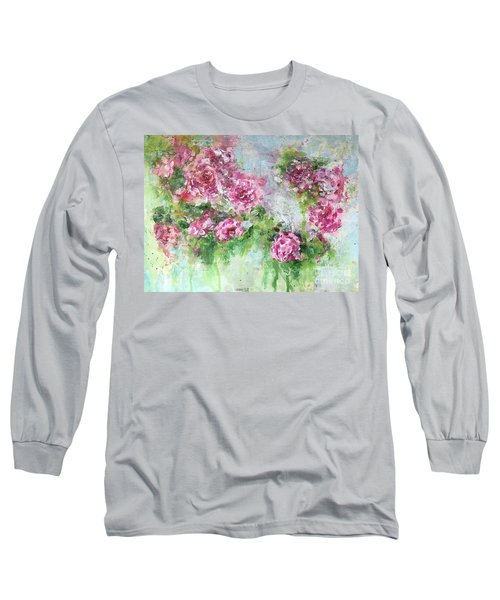 Wild Roses Long Sleeve T-Shirt